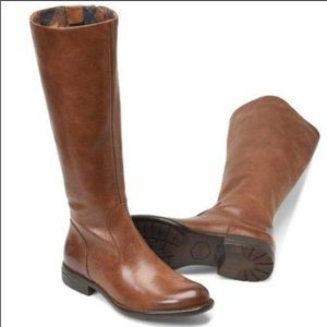 Born Tall brown over the knee equestrian boots 8.5